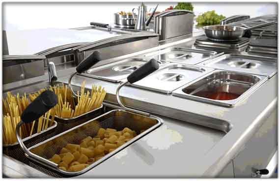 Attrezzature per la ristorazione Catnia e Cucine professionali Giarre - Sicilia